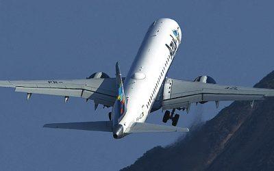 Aviação doméstica brasileira registrou em maio um crescimento de 2,55%
