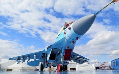MiG-35 no MAKS Air Show da Rússia