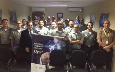Veja como foi o Workshop realizado pela IAS na Base Aérea Naval de São Pedro da Aldeia