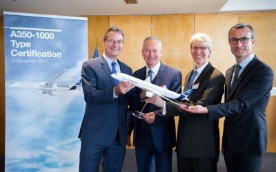 AirBus A350-1000 é certificado para voos comerciais