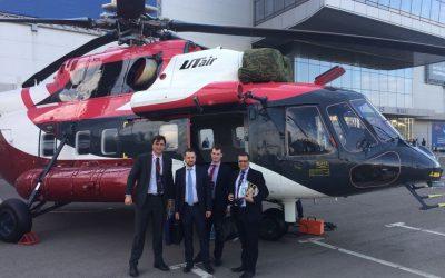 IAS – Indústria de Aviação e Serviços recebe homenagem na HeliRussia 2018