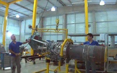 Parceria com gigante canadense da aviação turbina atividades de empresa mineira
