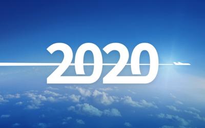 Boas festas e um 2020 de voos altos!