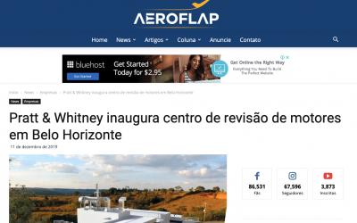 Pratt & Whitney inaugura centro de revisão de motores em Belo Horizonte