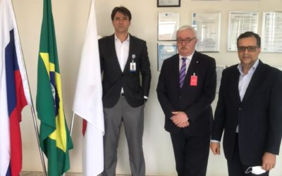 IAS recebe visita do Embaixador da Federação Russa no Brasil, Sr. Alexey Labetskiy